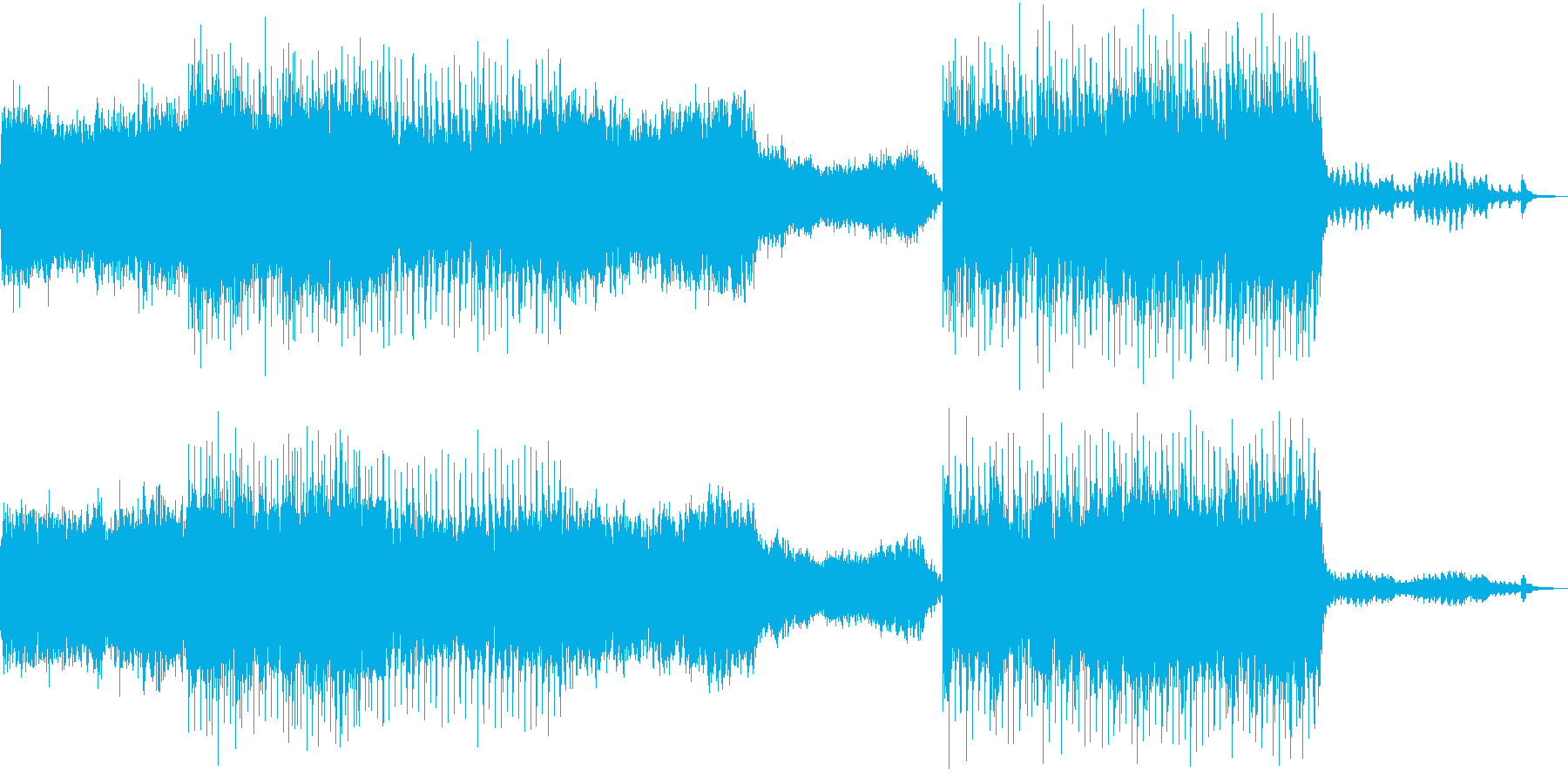 癒し ヒーリング 心地よい 落ち着く Mの再生済みの波形