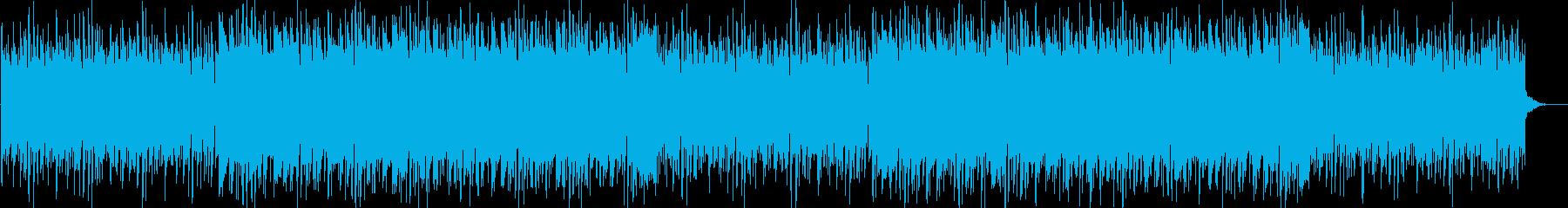 クールなドラムンベースの再生済みの波形