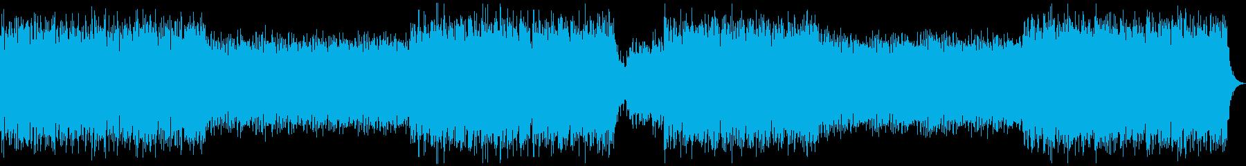 近未来を想像させる軽快なEDMの再生済みの波形