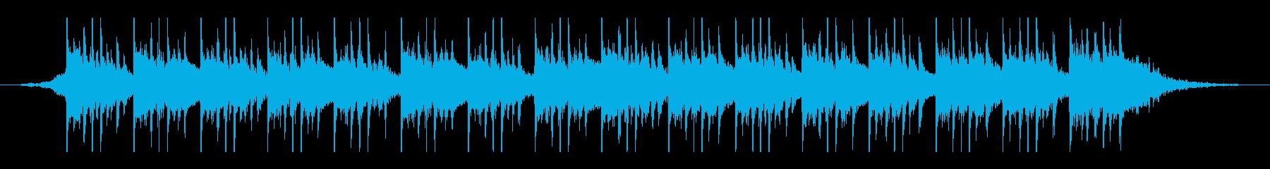 アラビア語(45秒)の再生済みの波形