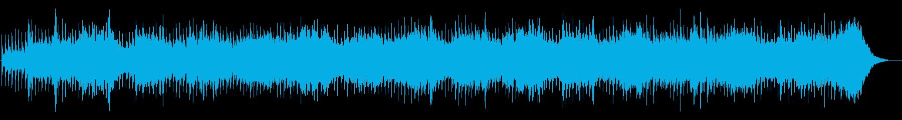 【リズム抜】神秘的、幻想的なアンビエントの再生済みの波形