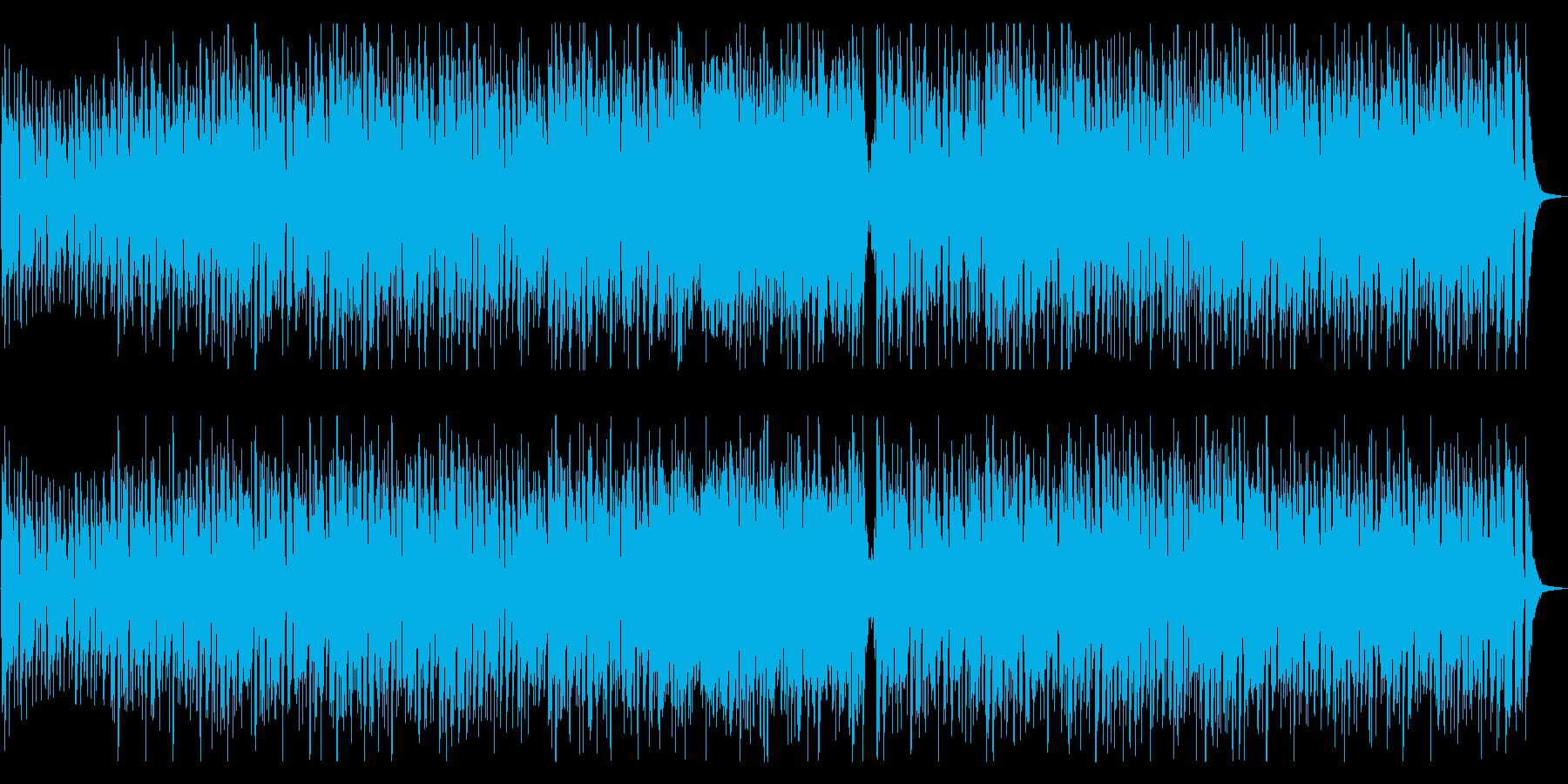 おしゃれでかっこいいジャズの再生済みの波形