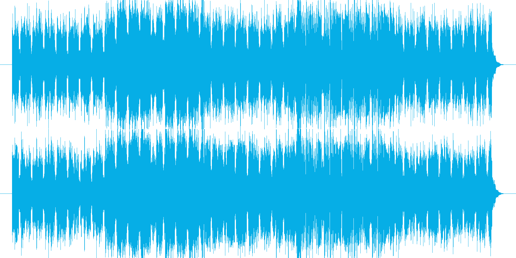 卒業をテーマに作ってみました。全て打ち…の再生済みの波形