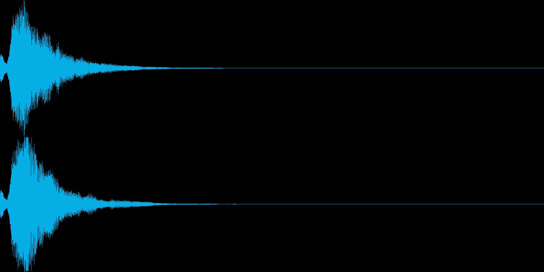 刀 キーン 剣 リアル インパクト Mの再生済みの波形