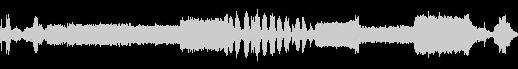 自動車ポンティアックスタートアップ回転の未再生の波形