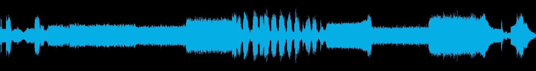 自動車ポンティアックスタートアップ回転の再生済みの波形