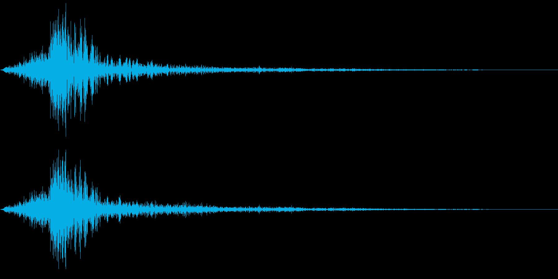魔法弓 ヒットの再生済みの波形