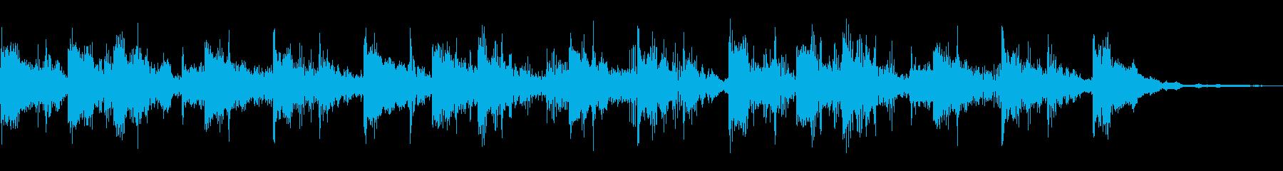 リバーブタグの再生済みの波形