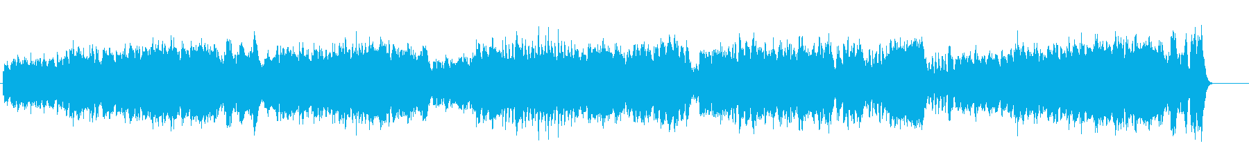 【オーケストラ】騎士の踊りの再生済みの波形
