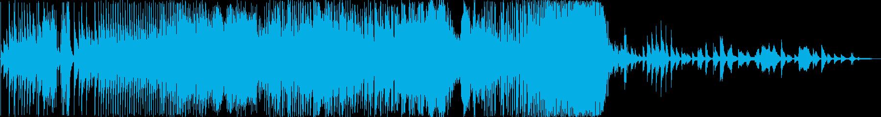 エスニック。民族トリオでの自由な表現。の再生済みの波形