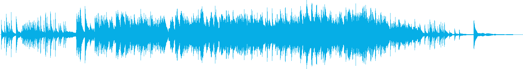 胸がキュンとなるような可愛いピアノ曲の再生済みの波形