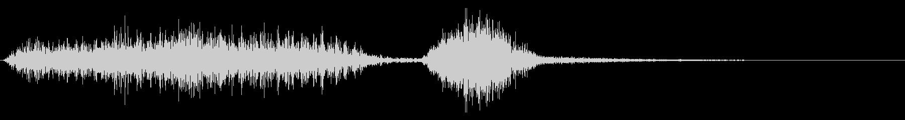 転送 ワープ 転移 08の未再生の波形