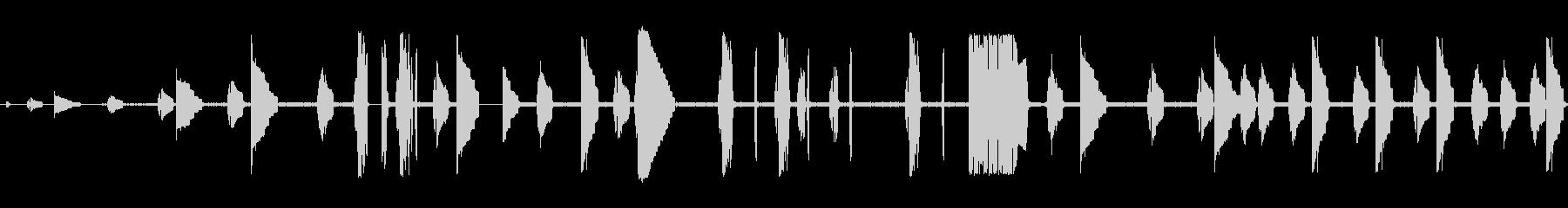 トーンビープ音歪んだビデオゲームの未再生の波形