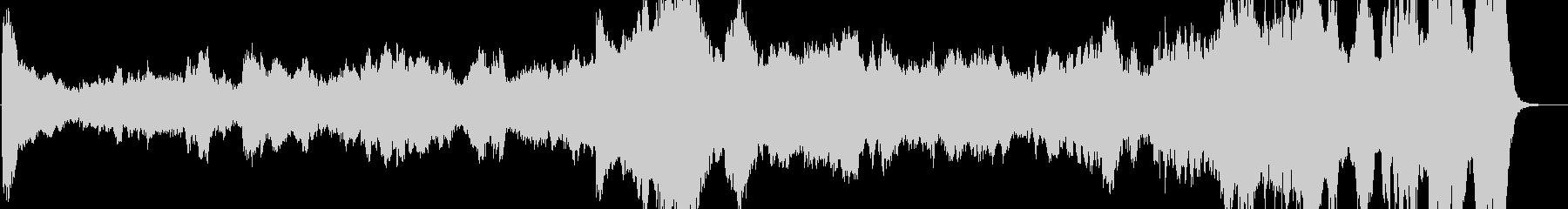 モダン テクノ 現代的 交響曲 エ...の未再生の波形