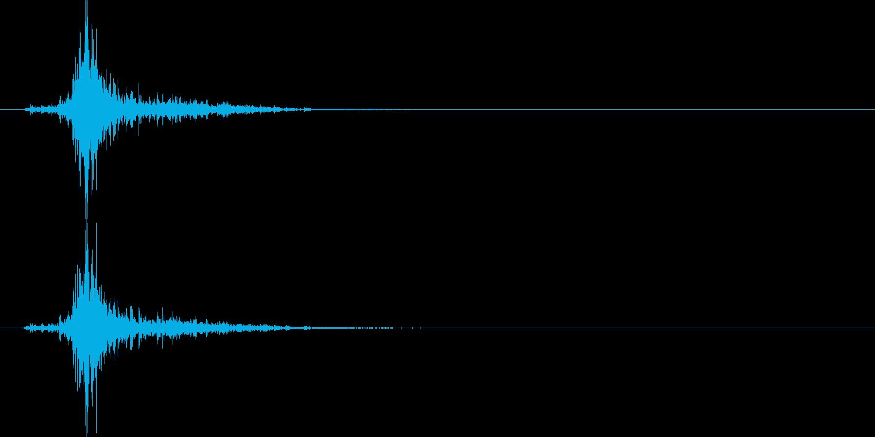 シャン(鈴、雪、クリスマス)の再生済みの波形