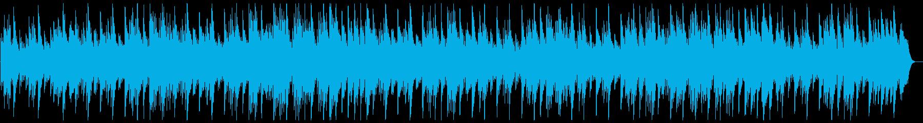 ふんわり包み込む夢のあるオルゴールの曲の再生済みの波形