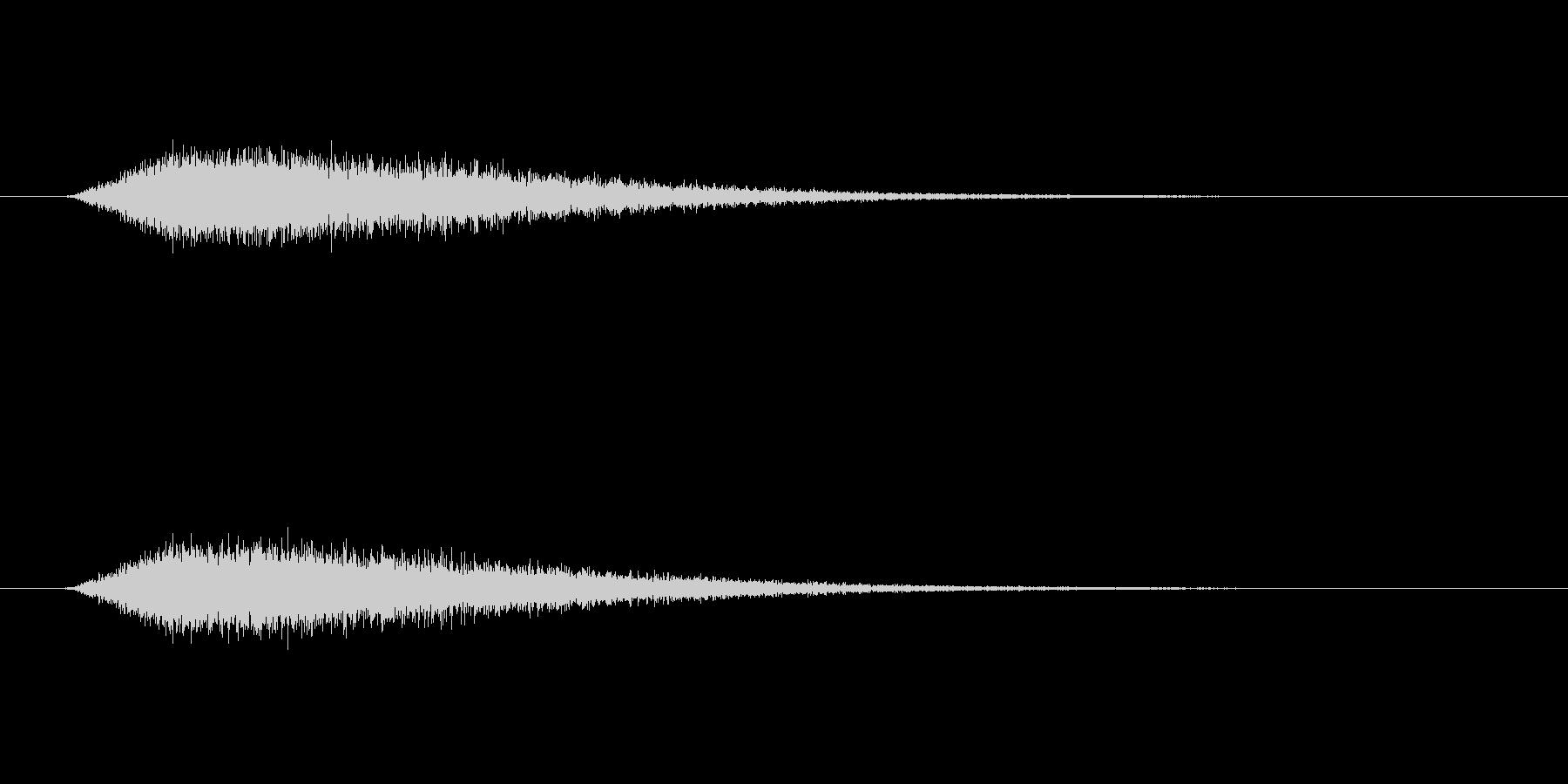 【ショートブリッジ31-1】の未再生の波形