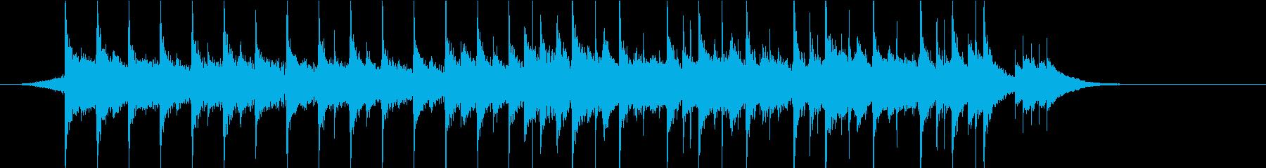 テンション上がる短いロックの再生済みの波形