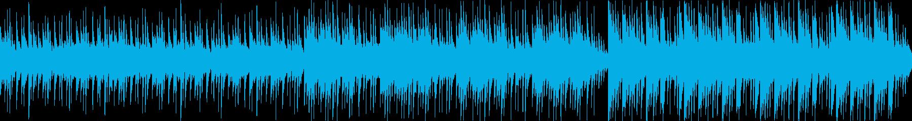 株価、ニュースなどに最適なLoop曲の再生済みの波形