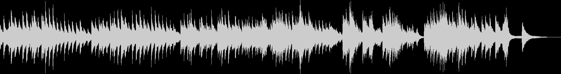 雄大な大地(ピアノ・ゆったり・爽やか)の未再生の波形