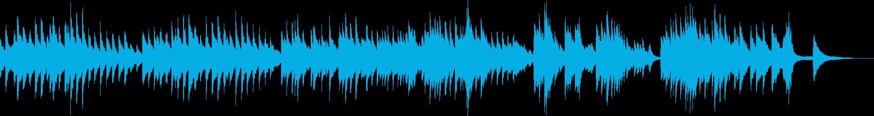 雄大な大地(ピアノ・ゆったり・爽やか)の再生済みの波形