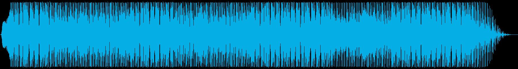 本物のアップビートな雰囲気のファン...の再生済みの波形