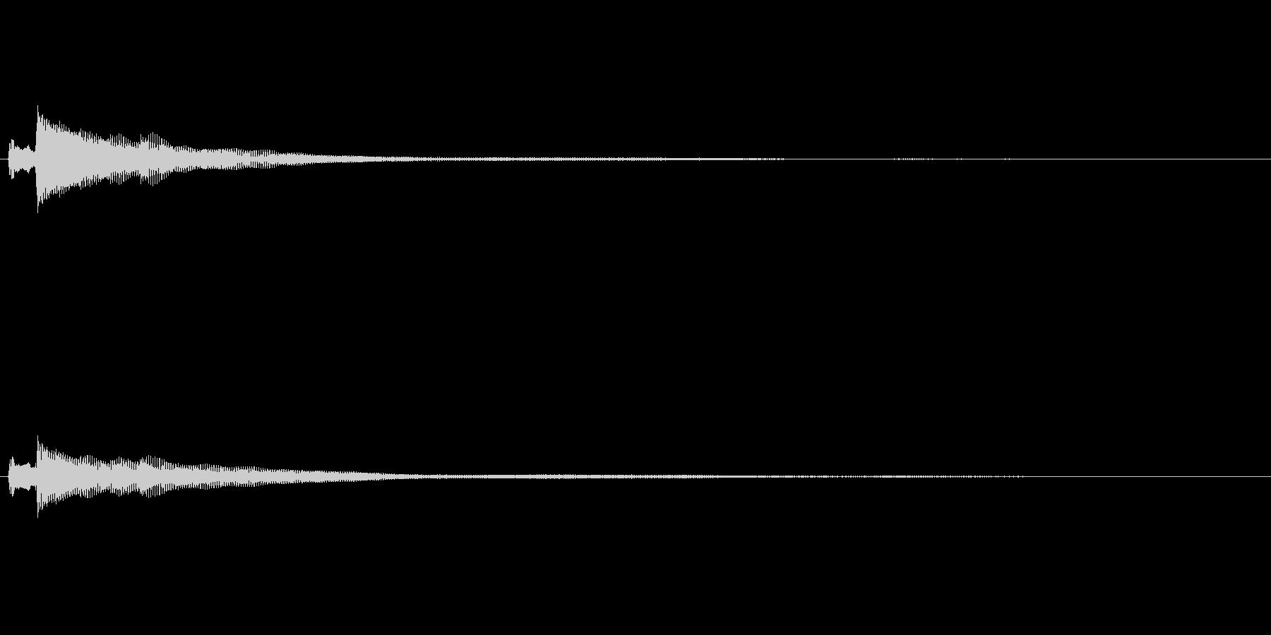ポロロロン(ハープの高めグリス↑)の未再生の波形