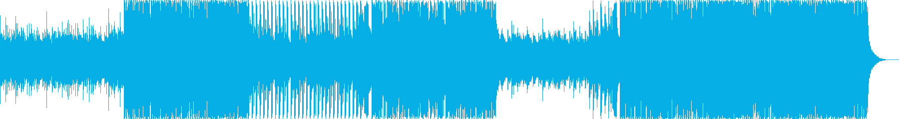 夏・トロピカルハウス・海・浜辺・青空・Sの再生済みの波形