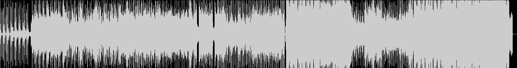 雫の未再生の波形