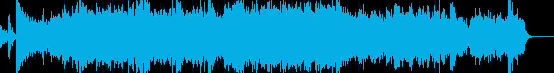 イメージはエンドロール、シネマサウンズの再生済みの波形