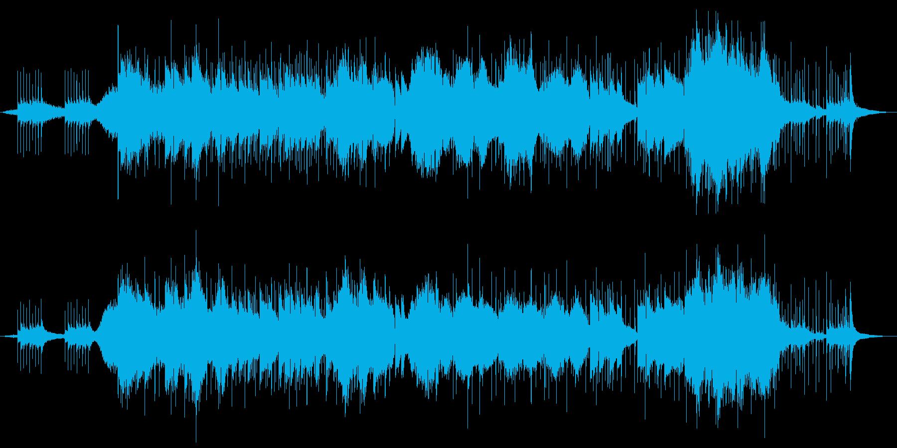神秘・古代・アンビエントの再生済みの波形