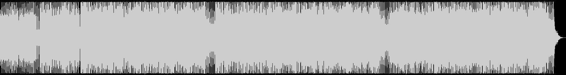 迫力ある低音が魅力のアシッド風サウンドの未再生の波形