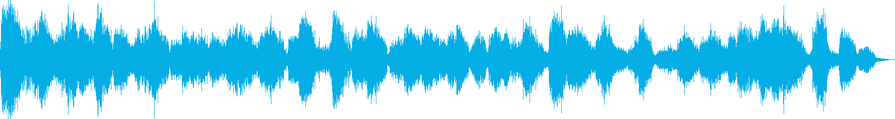 カラスの大群の再生済みの波形