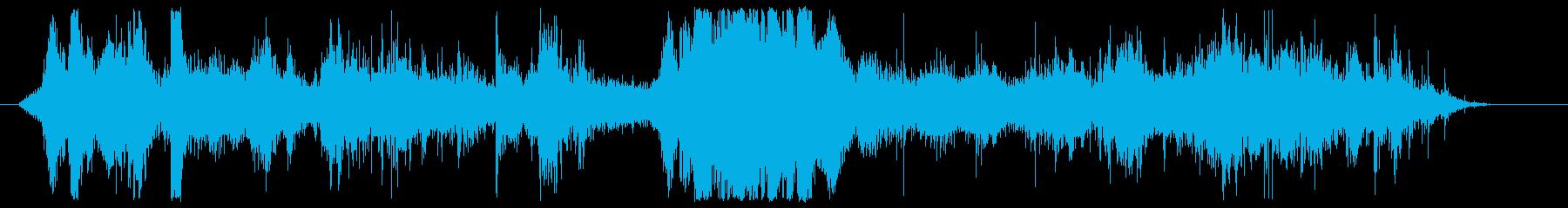 Arcabuces閉じるの再生済みの波形