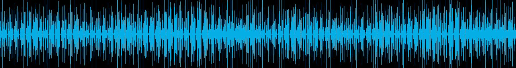 【ループ版】YouTubeウクレレ口笛の再生済みの波形