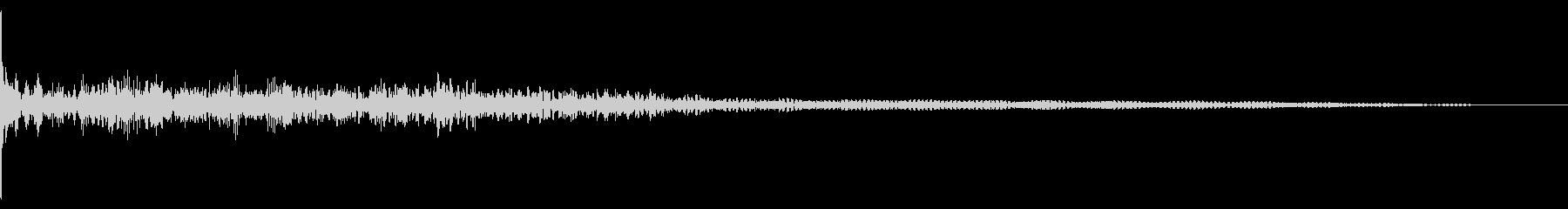 ホラー系アタック音10の未再生の波形