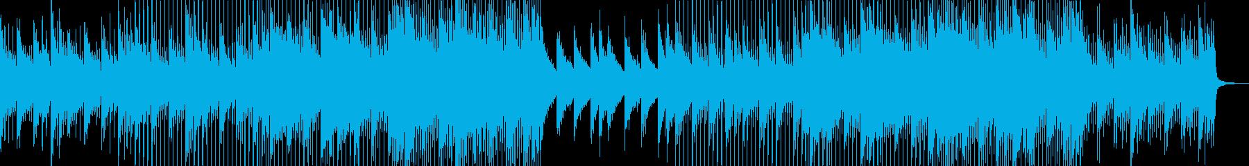 アコギとピアノが爽やかな透明感のある曲の再生済みの波形