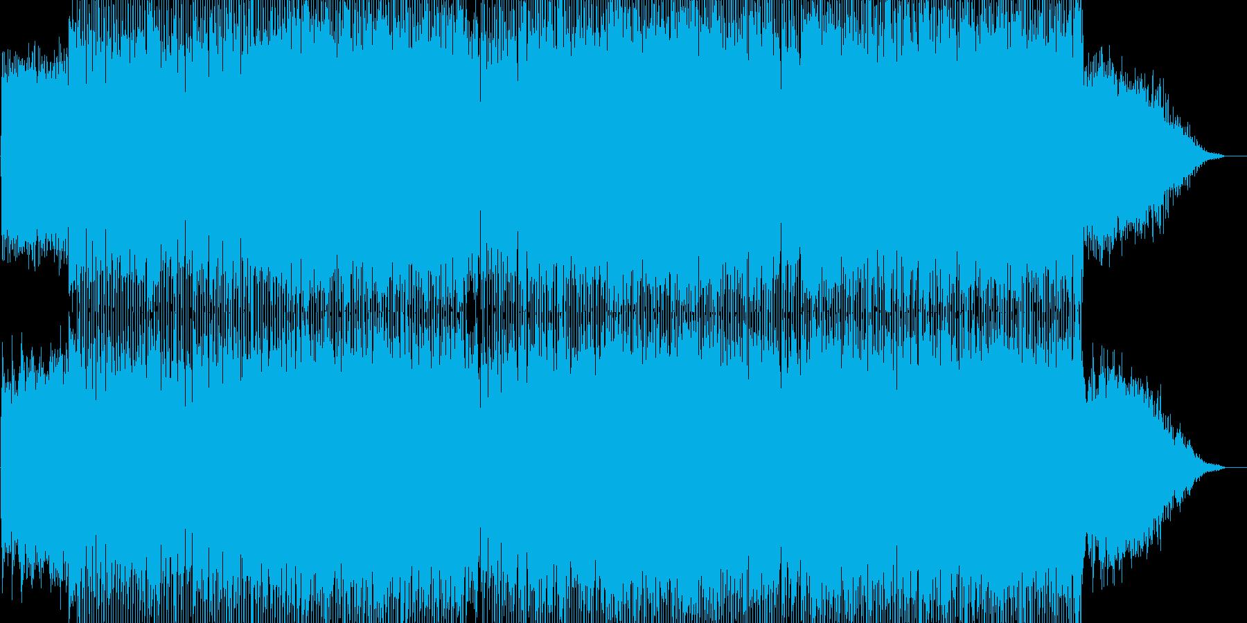 真夜中のドライブをイメージしたポップの再生済みの波形