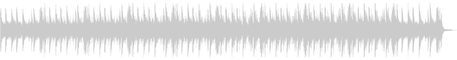 【リズム無し】企業VP・CM ピアノの未再生の波形