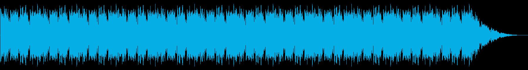 GB風対戦格闘ゲームのコンティニュー曲の再生済みの波形