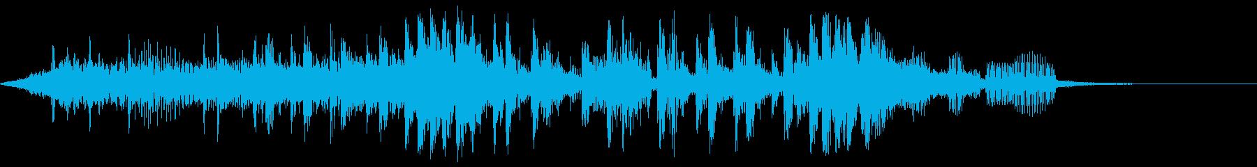 GROOVYオルタナティブロックテーマの再生済みの波形