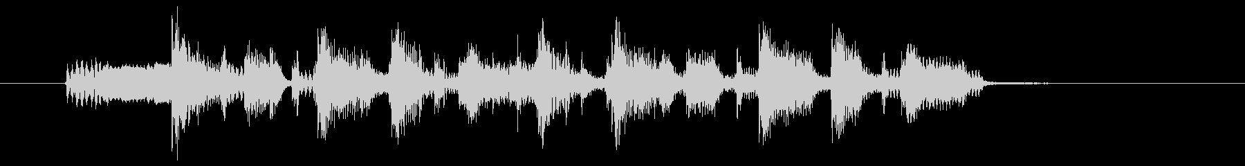 Funk by guitar cutting's unreproduced waveform