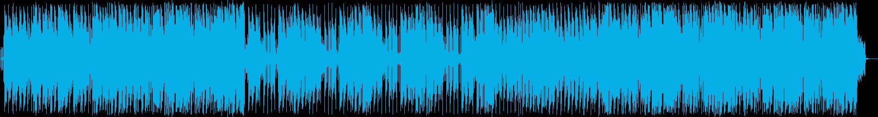 海沿いのドライブが似合うリゾートBGMの再生済みの波形