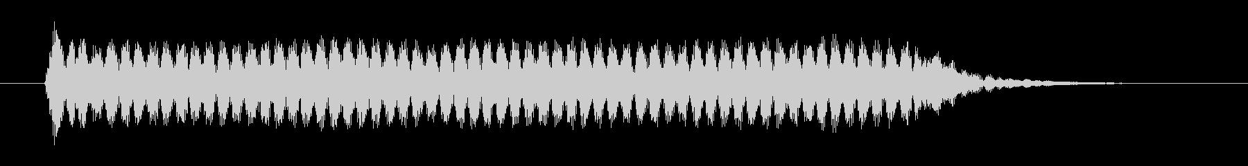 「ファー」という船の汽笛の未再生の波形