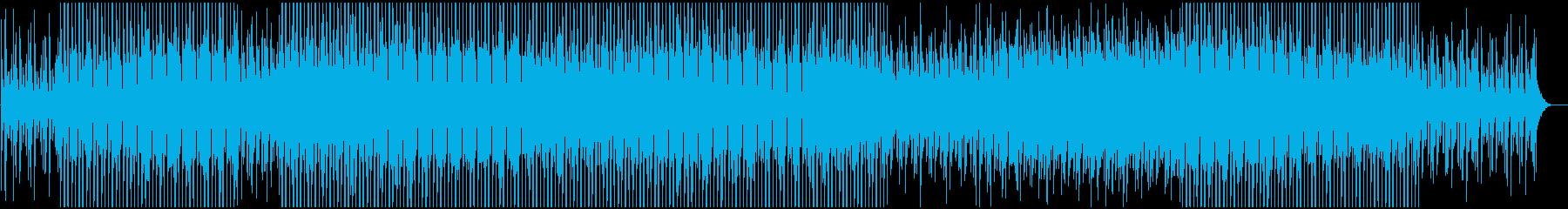 おしゃれで奇妙で軽やかなアシッドハウスの再生済みの波形