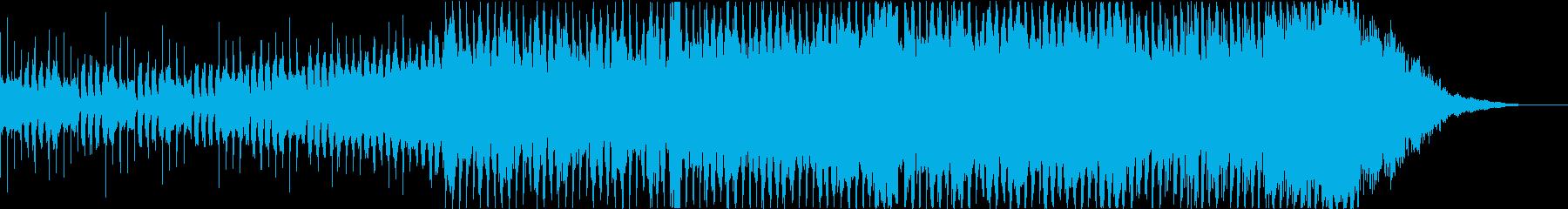 EDM オープニング イベント パーティの再生済みの波形