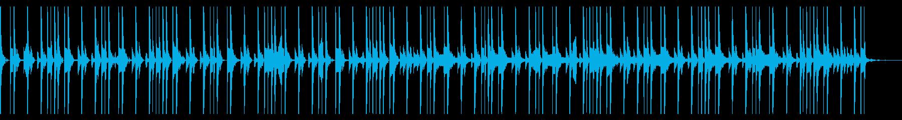 117 BPMの再生済みの波形