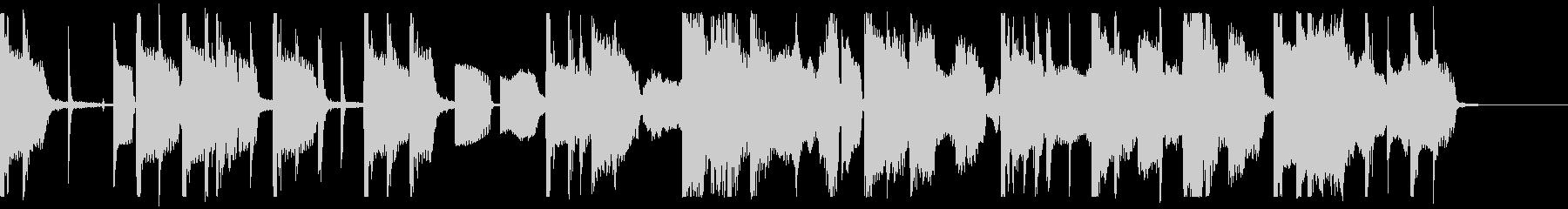 アンニュイなエレクトロポップの未再生の波形