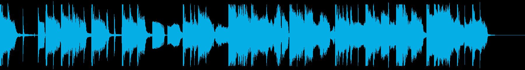 アンニュイなエレクトロポップの再生済みの波形