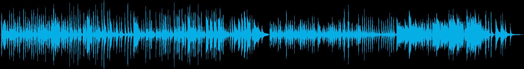 あんたがたどこさ ピアノ 童謡の再生済みの波形